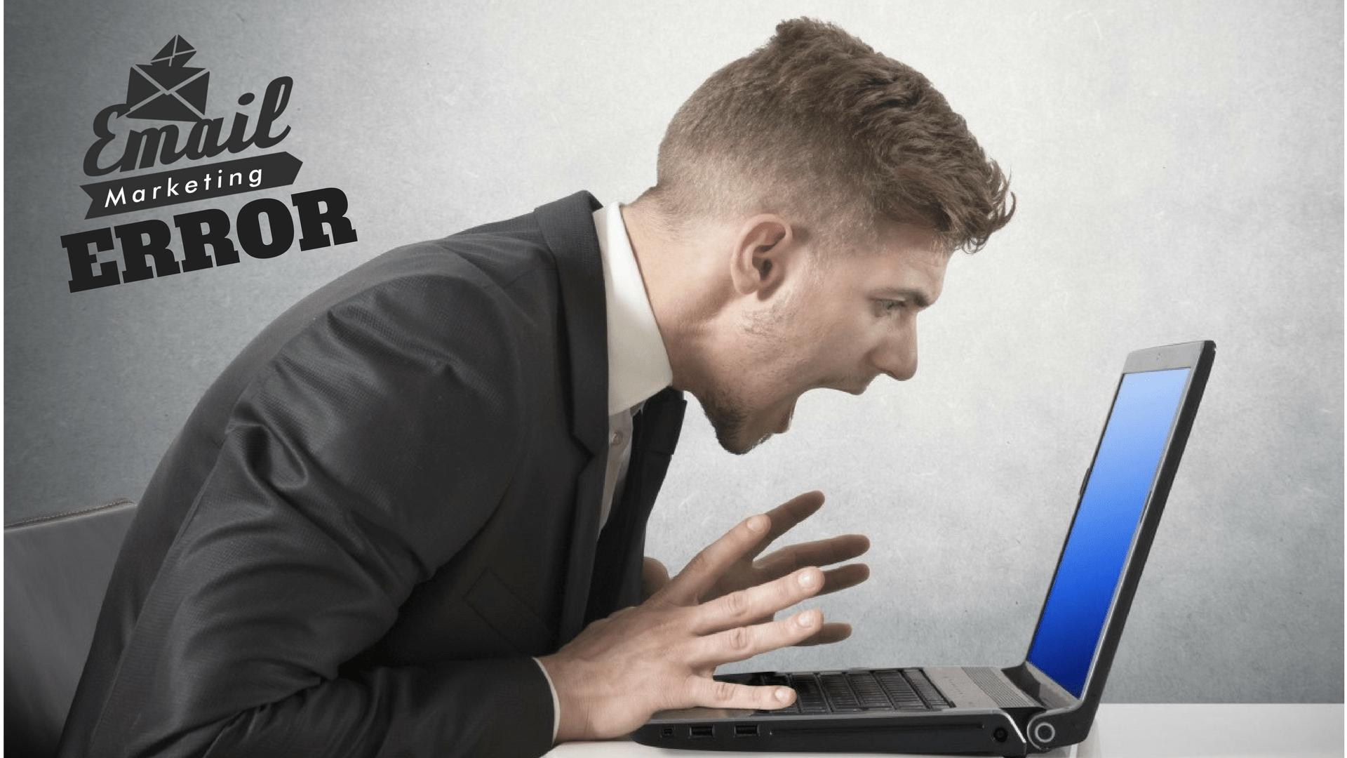 PRINCIPAIS ERROS DO E-MAIL MARKETING