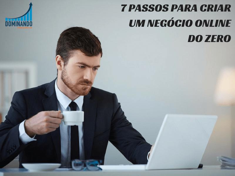 CRIAR NEGOCIO ONLINE PASSO A PASSO